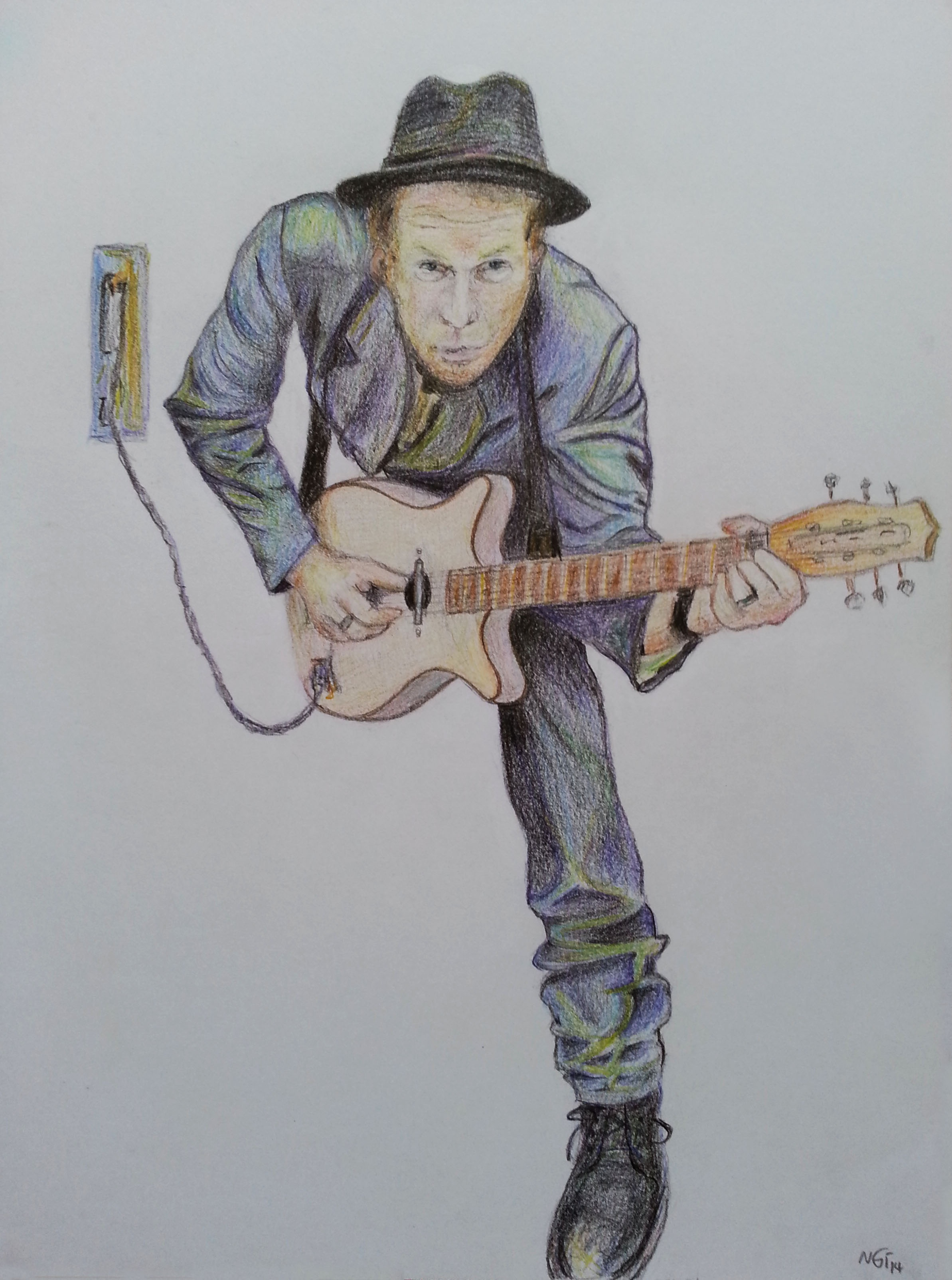 2386x3206 Free Images Person, Singer, Paint, Guitar Player, Electric