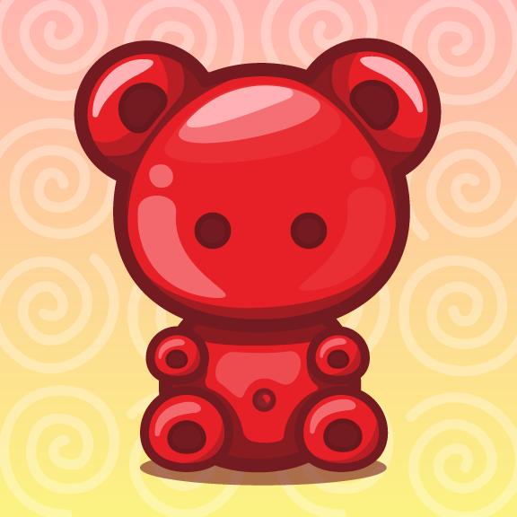 576x576 Gummy Bear! ^.^ By Sh Rainbowland