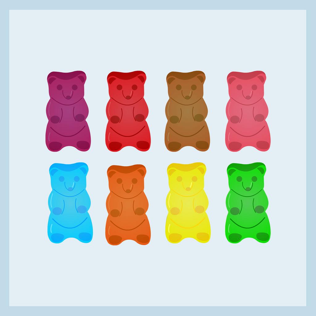 1024x1024 Gummy Bears Hadar Geva