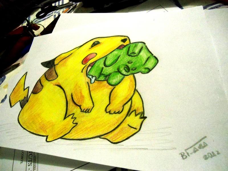 800x600 Pikachu gummy Bears By Brufaria