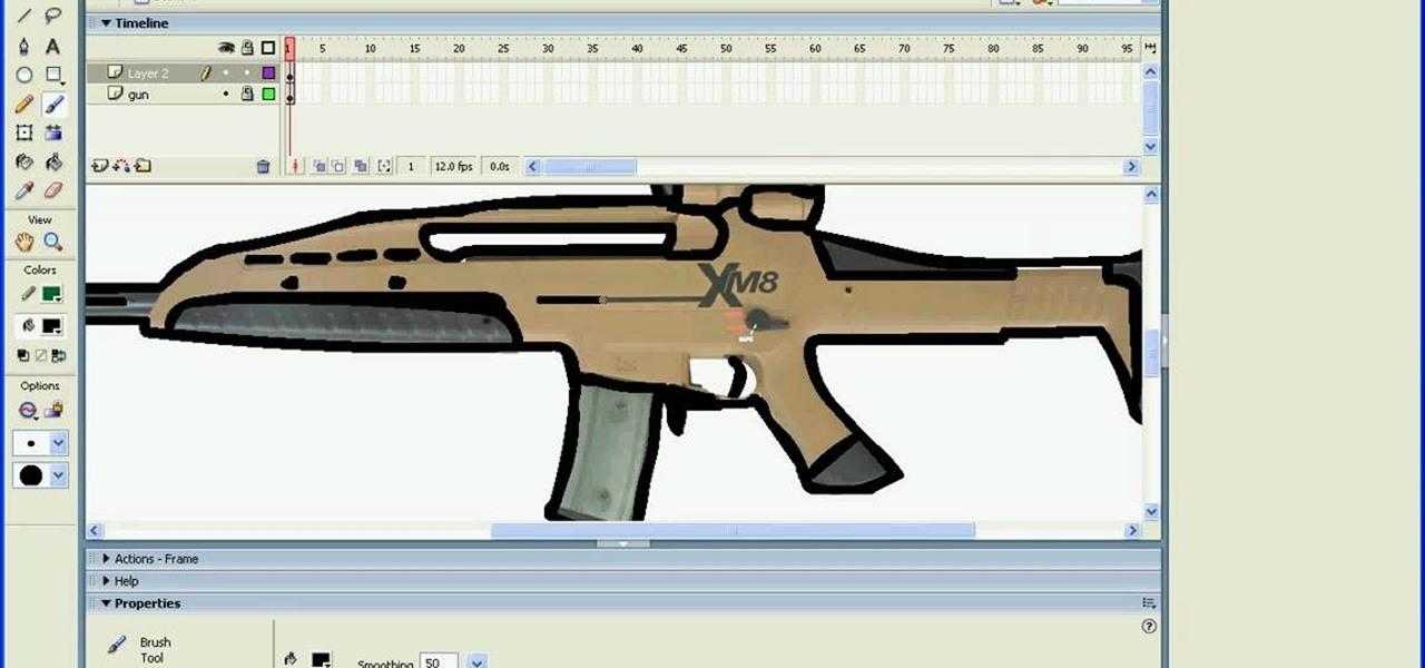 1280x600 How to Draw guns in Macromedia Flash Â« Adobe Flash WonderHowTo