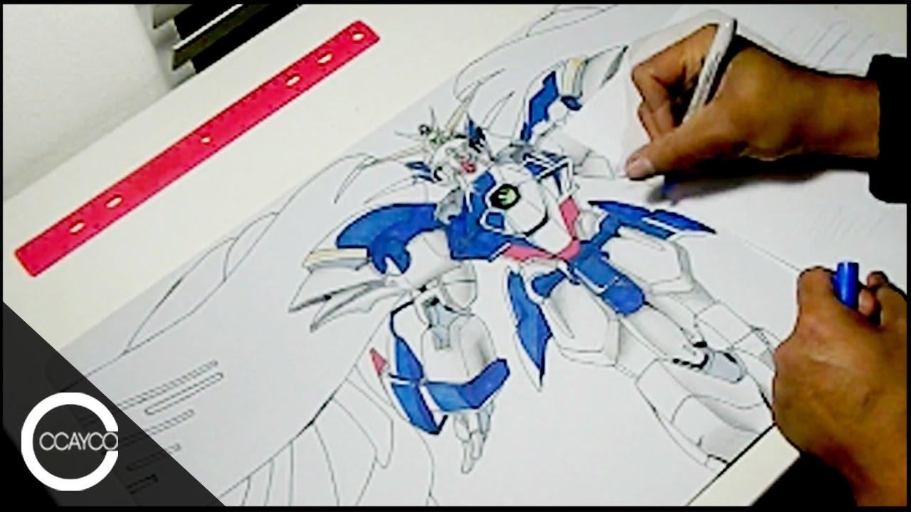 1280x720 Drawing Wing Zero Custom (Gundam Wing Endless Waltz) Playmat