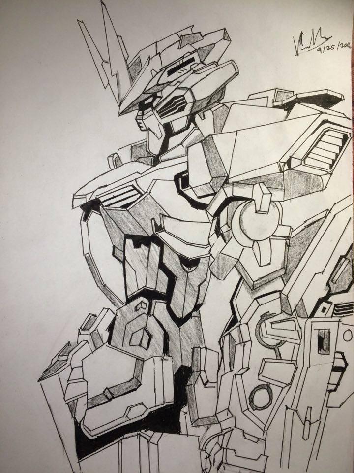 720x960 Gundam Astray Blue Frame Drawing By Crimsonk3y