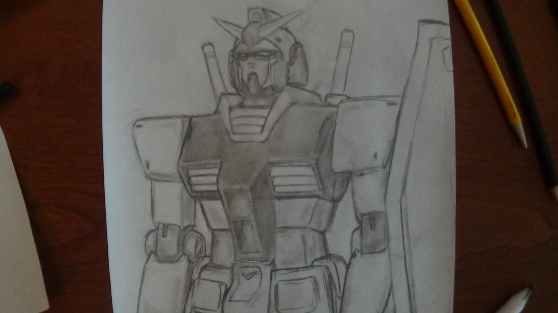 3000x1687 My Pencil Drawing Gundam Rx 78 Mobile Suit Gundam