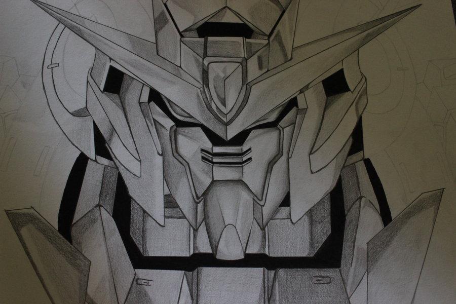 900x600 Gundam Drawing By Xuanlx
