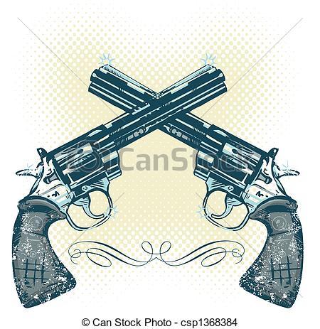 450x463 Hand Guns Drawing