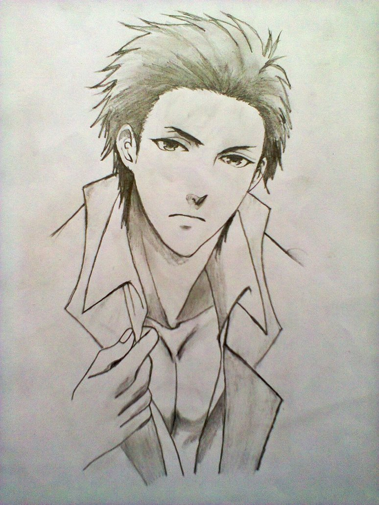 774x1032 Anime Drawings Of Guys Hot Anime Guy By Xinje