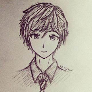 320x320 Images Of Drawings Of Anime Boys