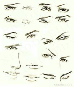 236x277 How To Draw Anime Male Eyes Step 12 Anime Anime