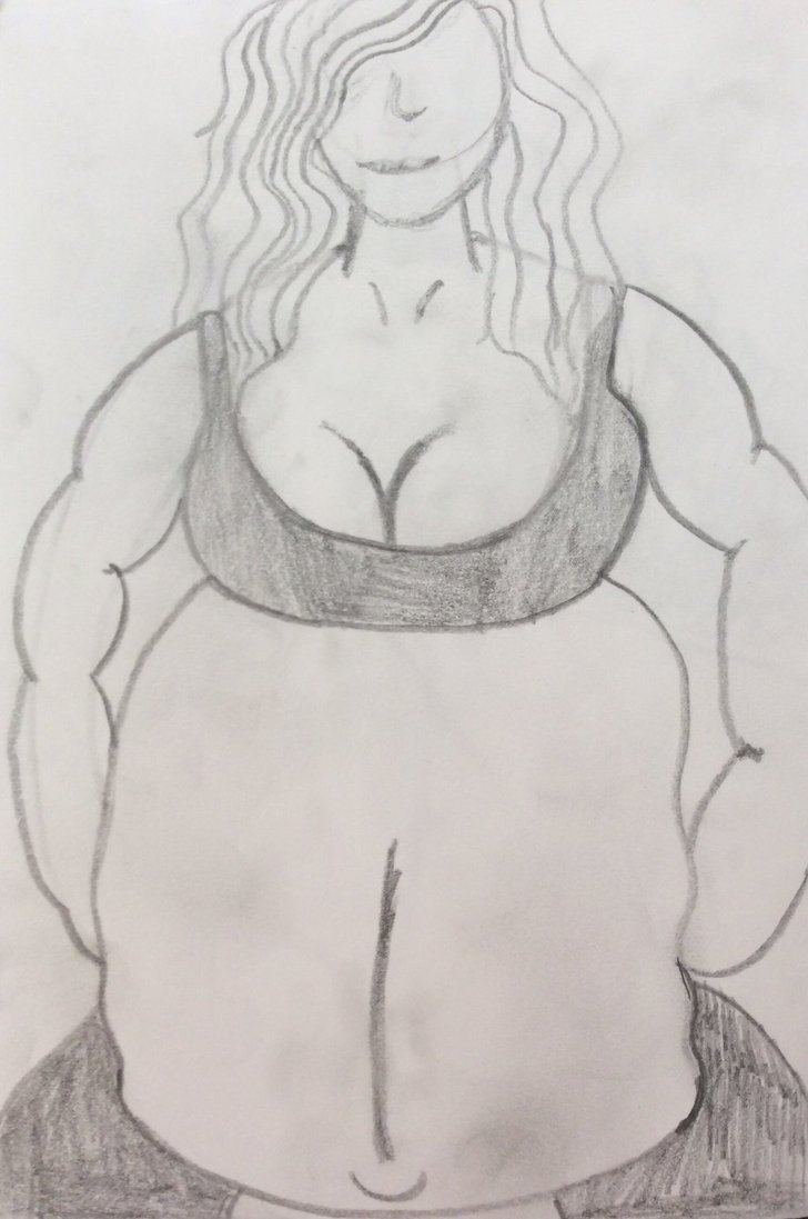 728x1097 Weight Lifting Gym Exercise By Vore Drawing