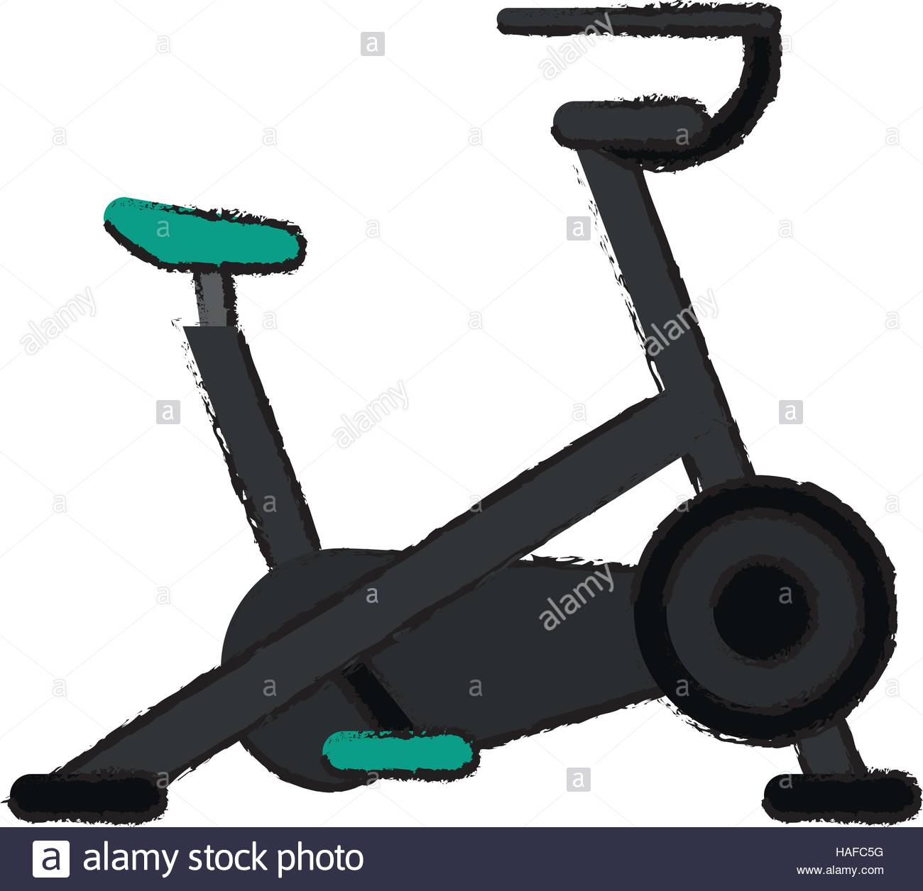 1300x1256 Drawing Stationary Bicycle Machine Gym Sport Stock Vector Art