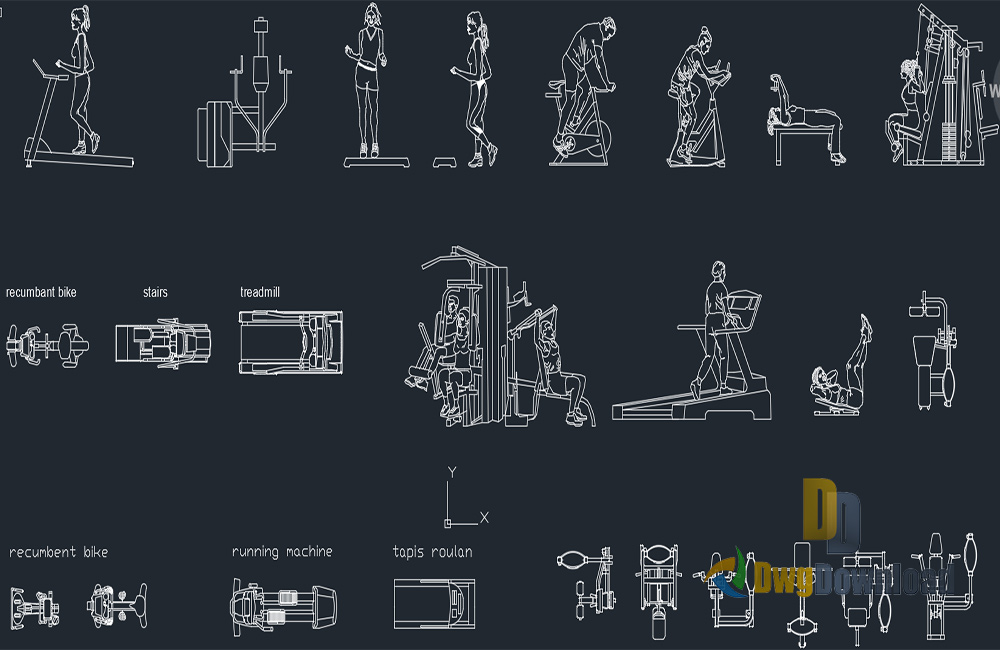 Gym equipment drawing at getdrawings free for