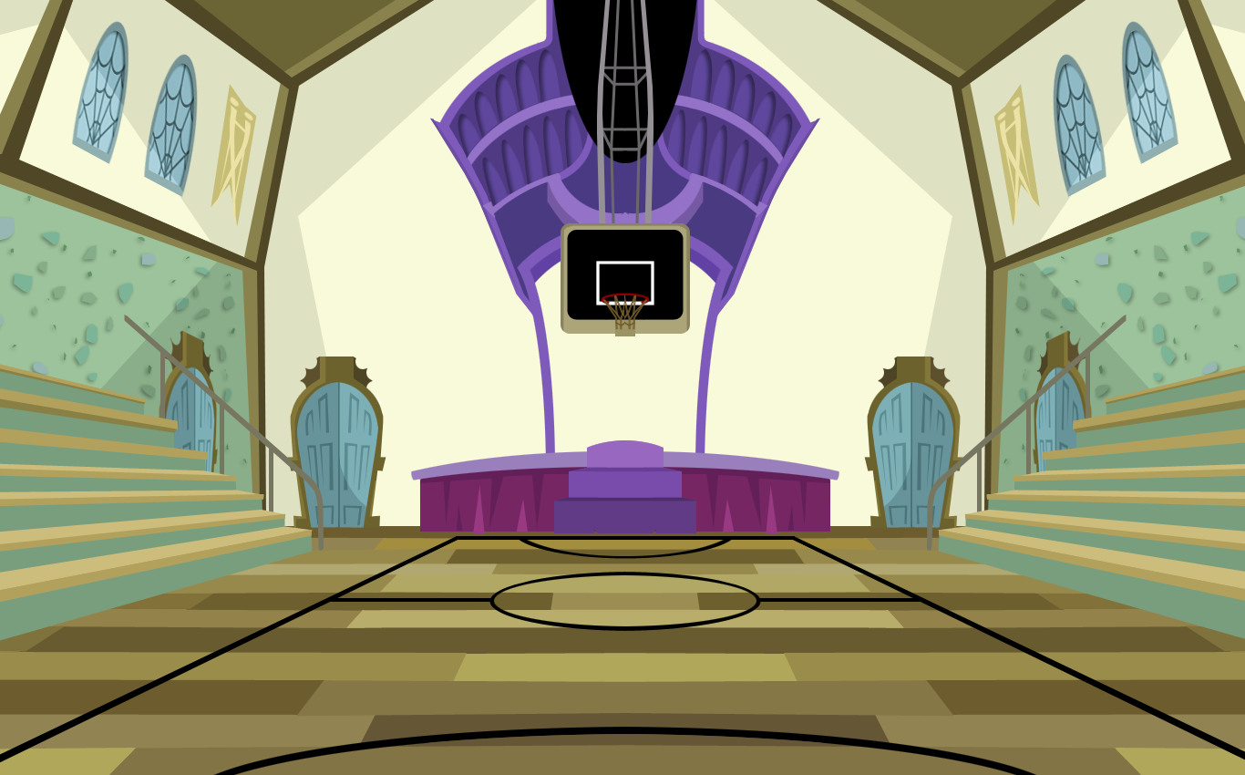 1366x850 Monster High Gymnasium Background By Teddy Beard