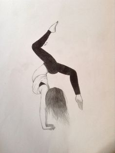 236x315 Pic Of Me And A Friend In Our Gymnastics Leos. Drawing By Julia