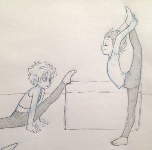 500x492 Gymnastics Drawing Tumblr