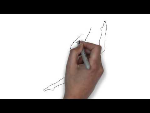 480x360 How To Draw Woman Gymnast