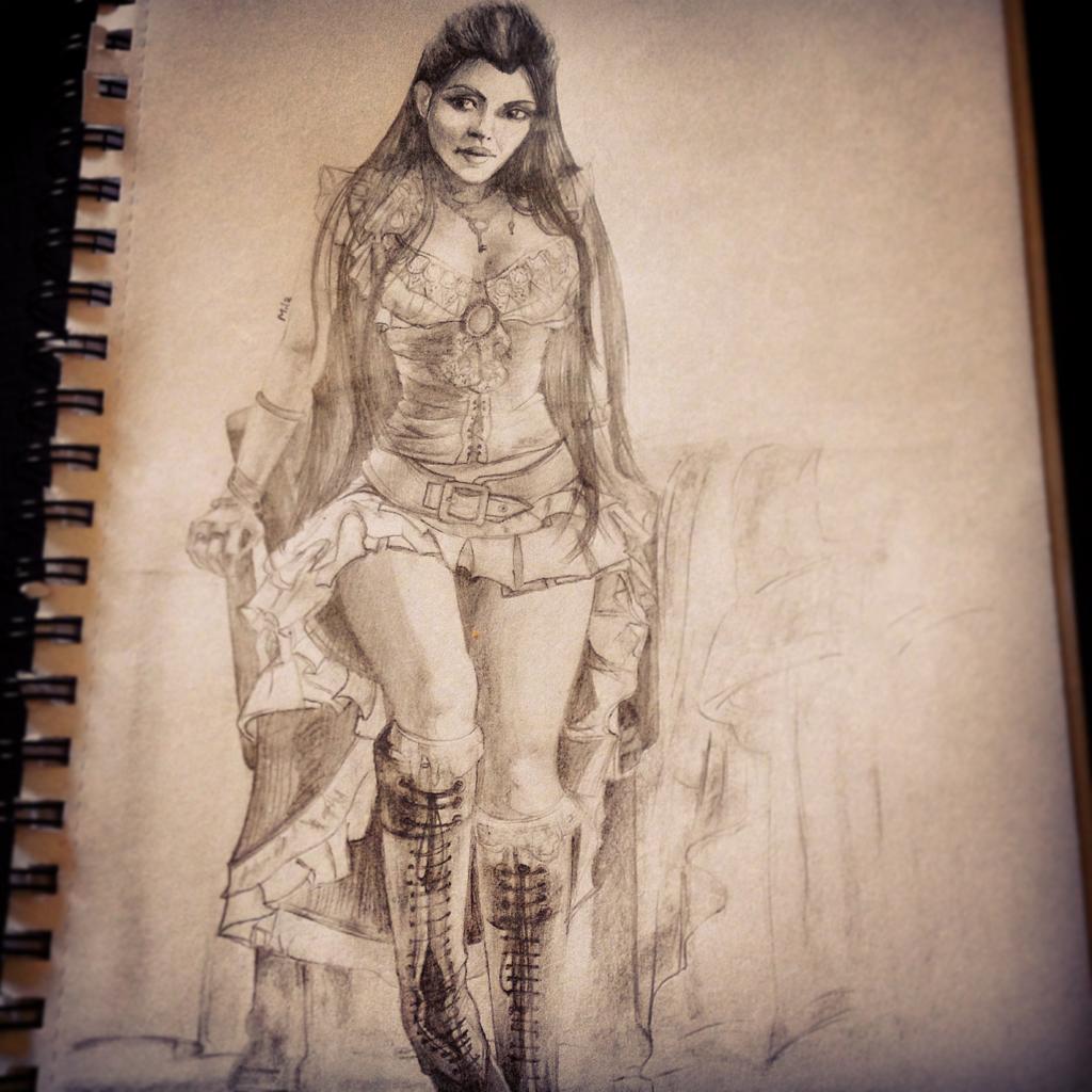 1024x1024 Gypsy Woman By Sharedfreckle