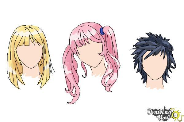 600x400 How To Draw Manga Hair