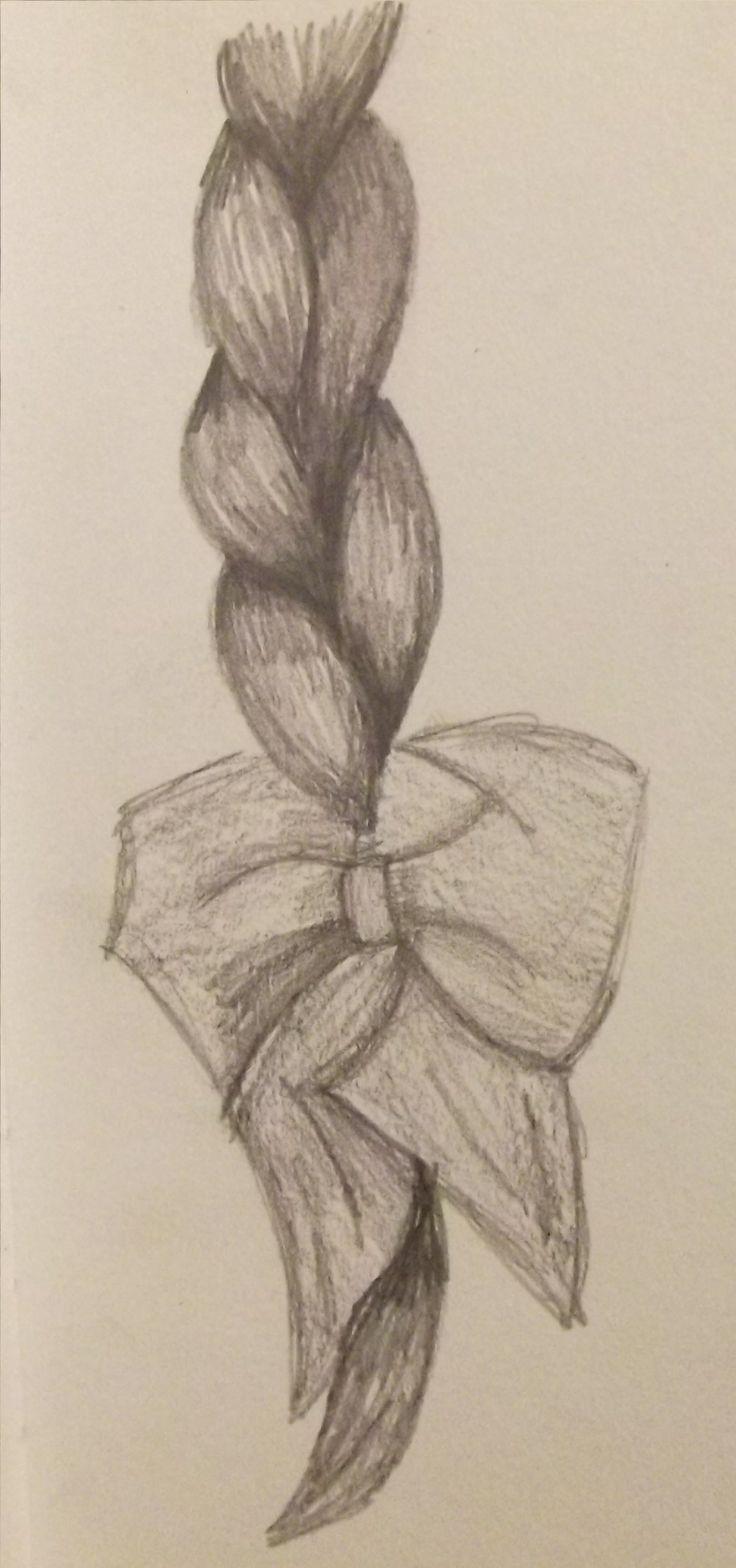 736x1568 Printable Hair Bow Drawing