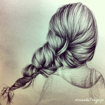 400x400 Amazing Art Hair Braid Girl Awesome Art Creations