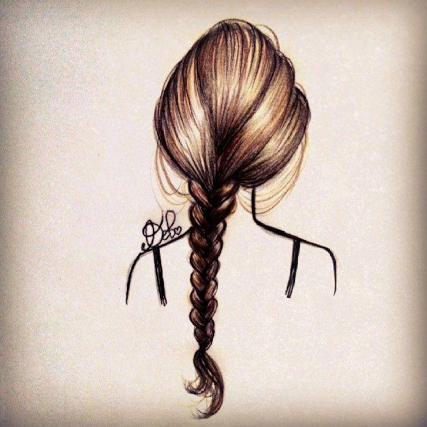 612x612 Hair Braid By On @ Girls