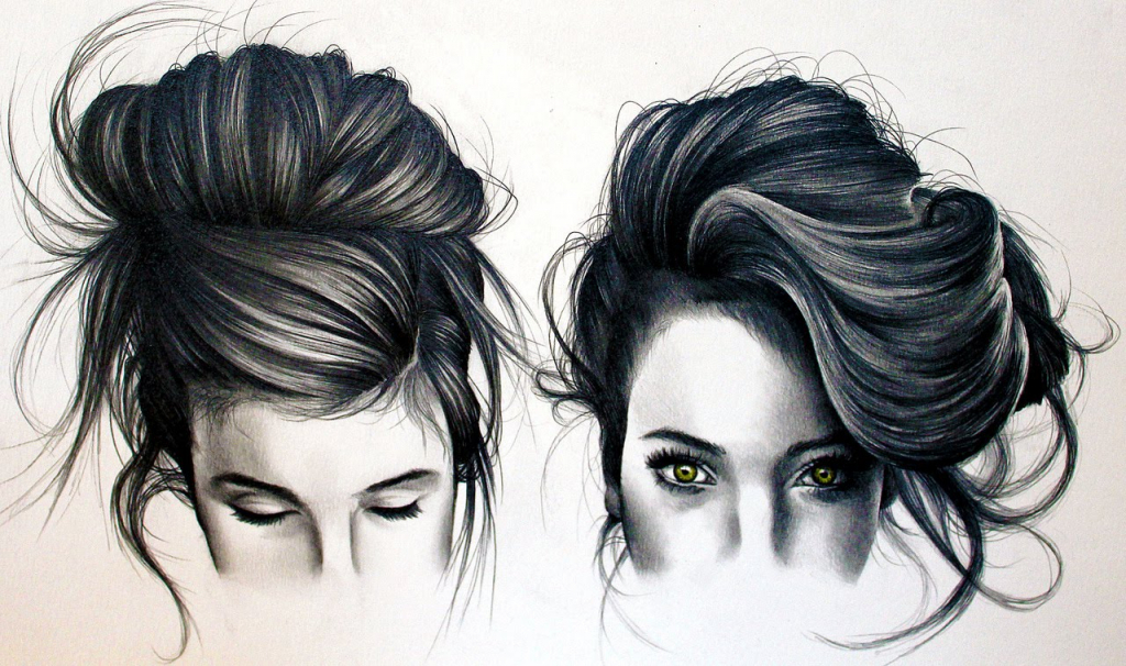 1024x606 Girl Hair Tumblr Drawing How To Draw Tumblr Black Hair