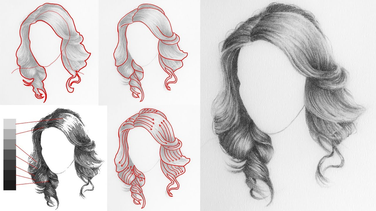 1280x720 How To Draw Hair