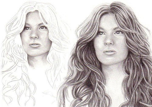500x352 50 Clever Tutorials And Techniques On Traditional Drawing