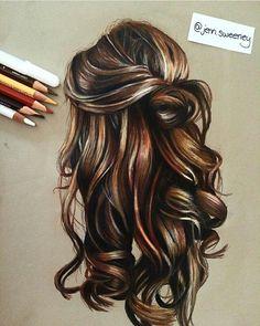 236x295 Mermaid Hair Color Drawing Hair!! Blue Wavy Long Hair. Fun To Draw