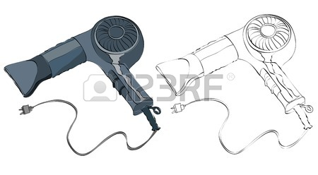 450x248 580 Vintage Hair Dryer Cliparts, Stock Vector And Royalty Free