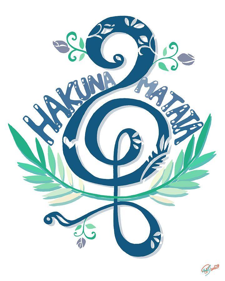 Hakuna Matata Drawing At Getdrawings Free For Personal Use
