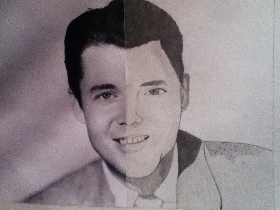 960x720 Audie Murphy (Half Face Drawing) By Pepper635