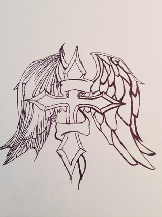 320x427 Demonwings Drawings On Paigeeworld. Pictures Of Demonwings