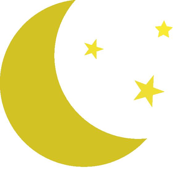 600x566 Half Moon Drawing