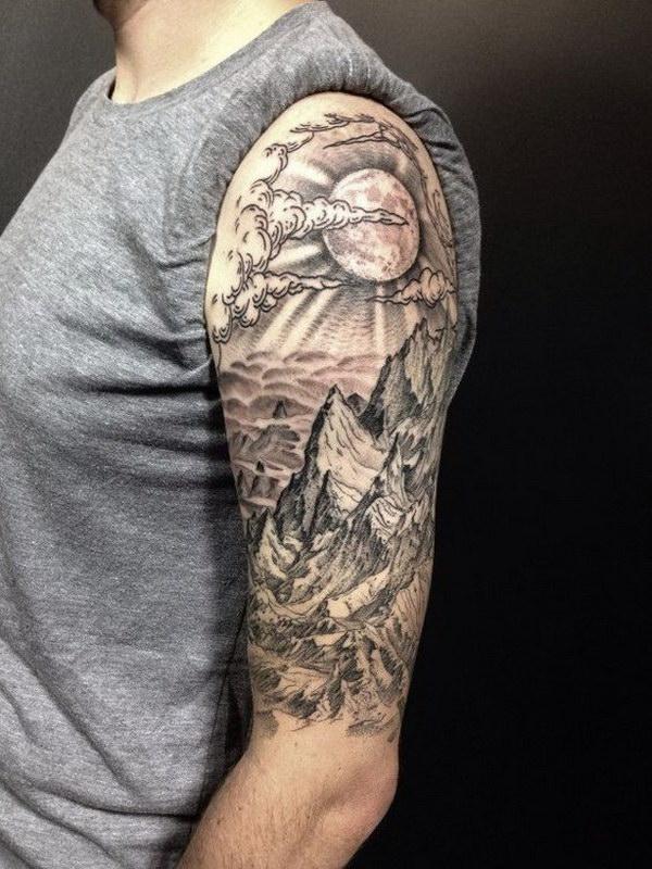 600x800 45 Awesome Half Sleeve Tattoo Designs 2017
