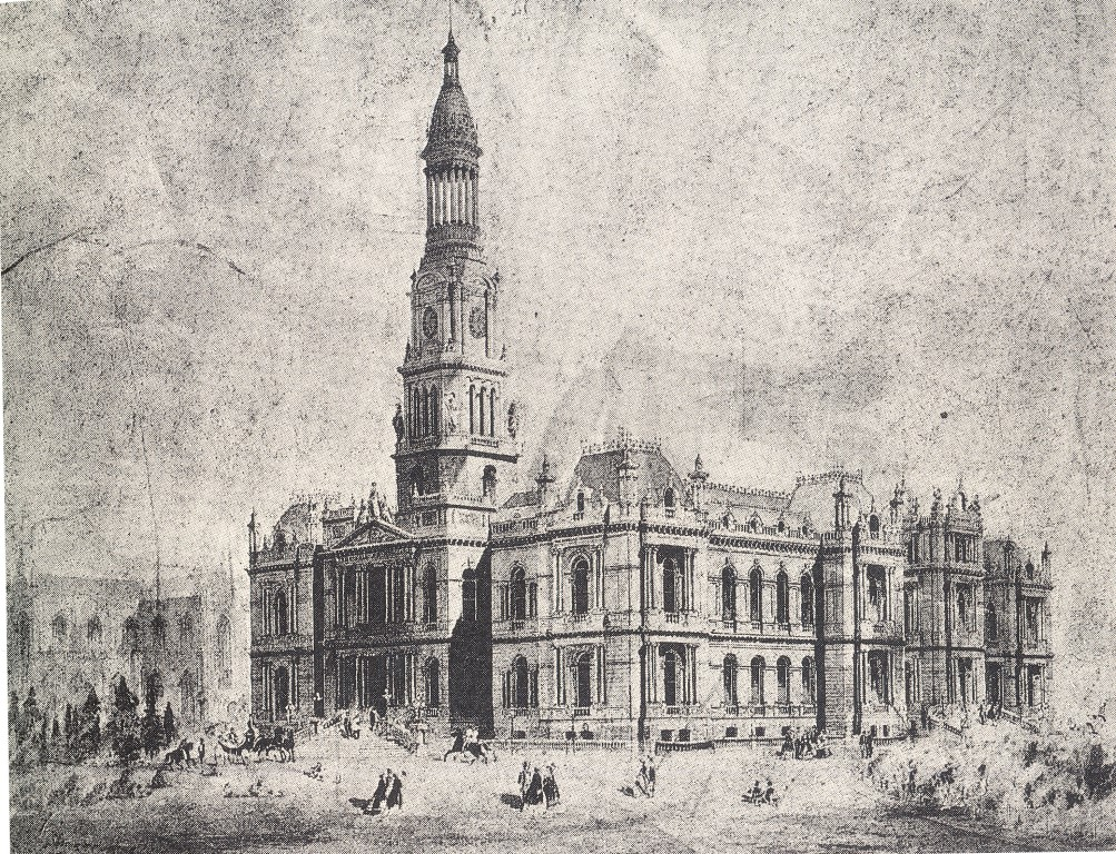 1003x768 The Grand Design Drawing Sydney Town Hall Deborah Beck With Jim