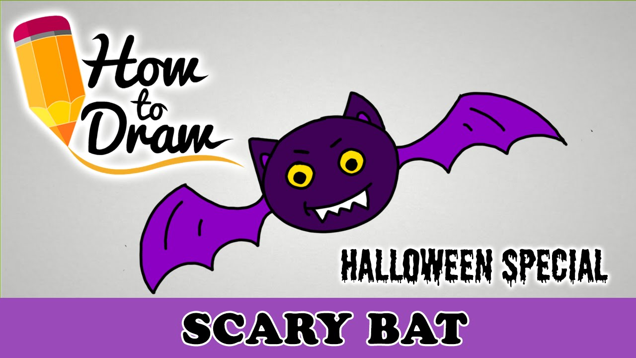 1280x720 How To Draw A Scary Bat