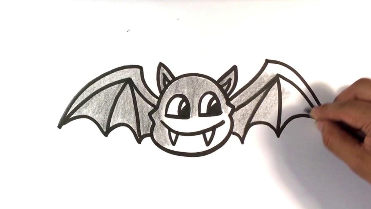 1280x720 How To Draw A Bat Cartoon