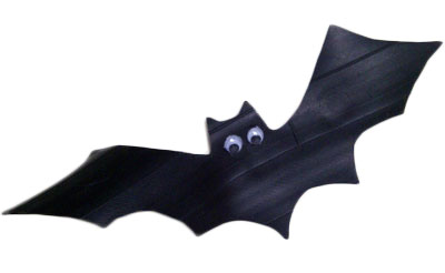 400x246 How To Make Halloween Bats From Inner Tubes Bats, Crafts And Crafty