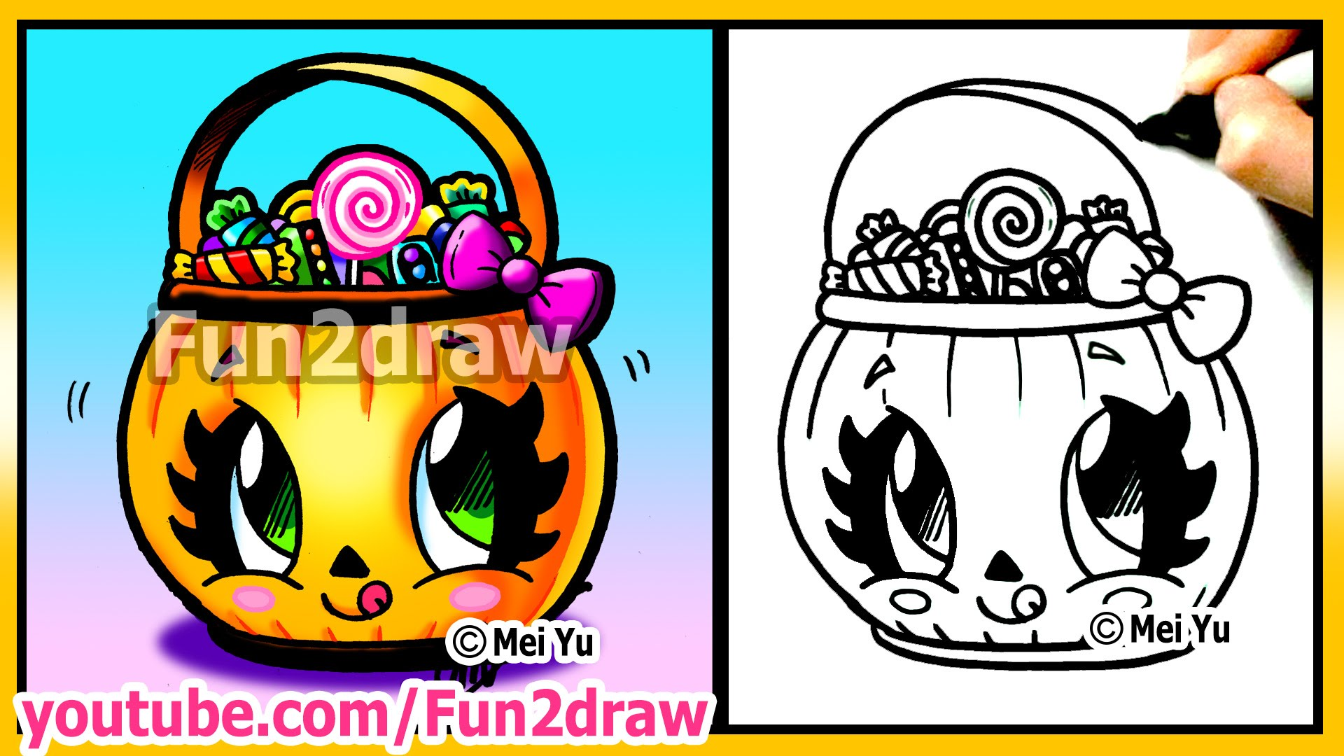 halloween cartoon drawing at getdrawings | free for personal use