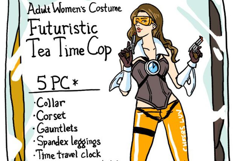 800x519 Overwatch Characters As Halloween Costumes Kotaku Australia
