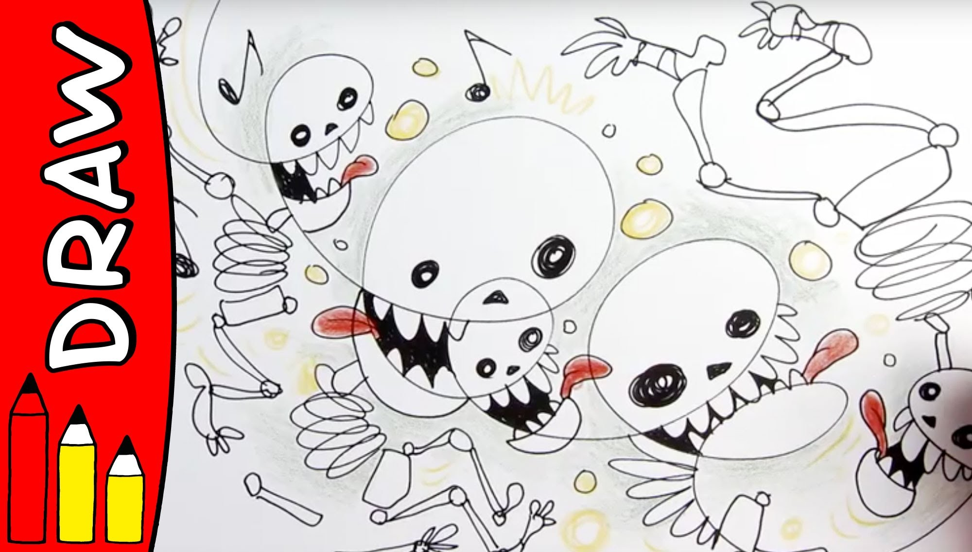 2000x1135 Halloween Drawing Ideas Fresh How To Draw Skeletons Halloween
