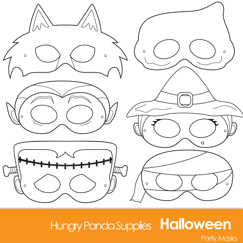 1500x1500 Halloween Masks To Print Fun For Christmas