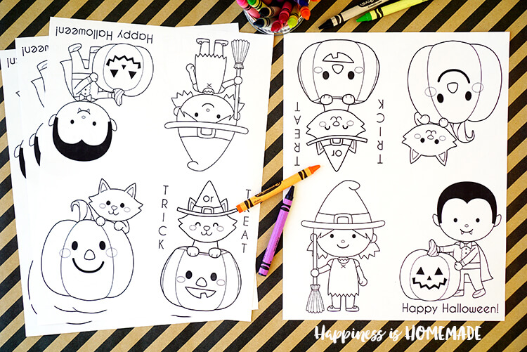 750x501 Printable Halloween Coloring Books