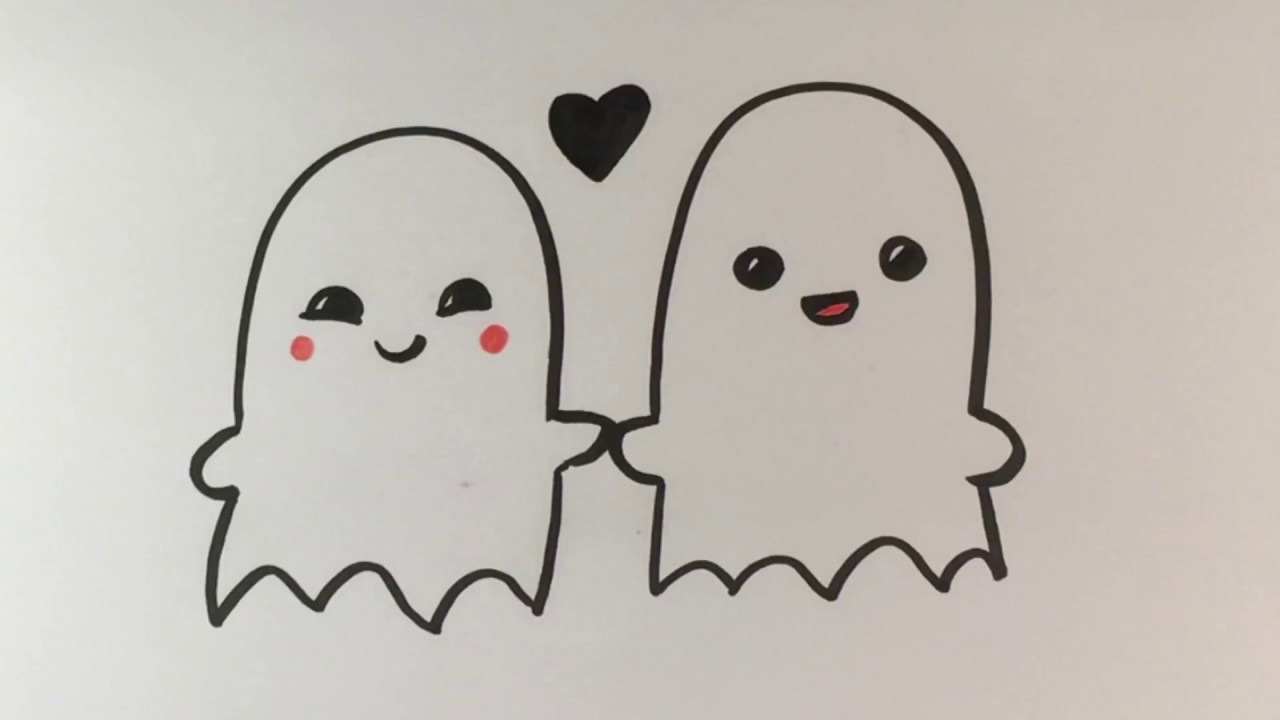 Halloween Ghosts Drawing at GetDrawings.com | Free for personal use ...