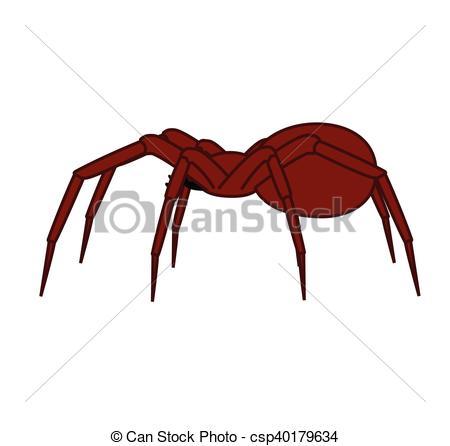 450x446 Halloween Spider Vector Illustration Vectors