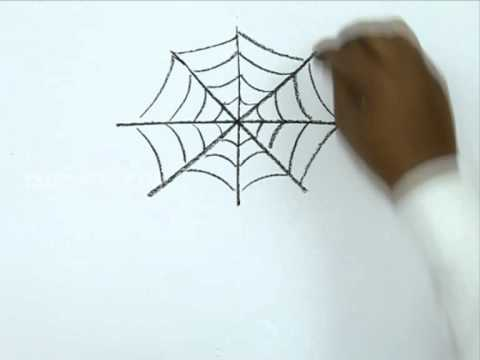 480x360 How To Draw A Halloween Spider