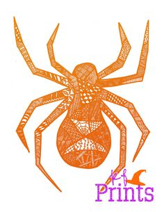 236x305 Colorful Spiders Colorful Spider Drawing