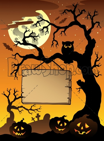 357x483 Halloween Tree Drawing Festival Collections