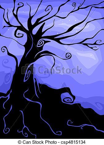 337x470 Halloween Tree Drawing Fun For Christmas